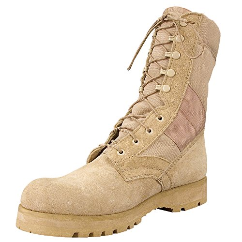 "Rothco 8"" Desert Tan Sierra Sole Boot"