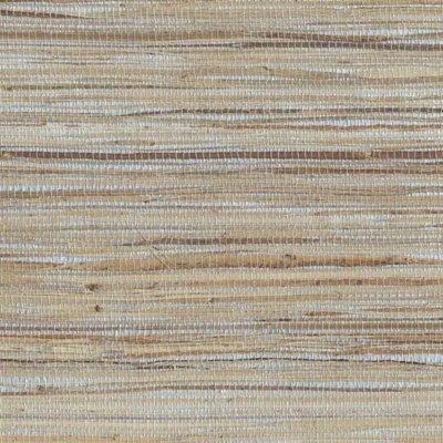 Beige Faux Grass Cloth Wallpaper - 4