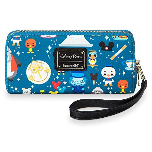 Disney Parks Attractions Minis Zip-Around Wristlet Wallet by Loungefly from Loungefly