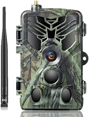 SUNTEKCAM LTE 4G Cellular Trail Cameras 20MP 1080P Wireless Camera for Wildlife Monitoring with 120°Detecting Range Motion Activated Night Vision Waterproof
