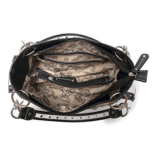 Letto Occidentale Da Di Blancho Biancheria Black Bag Owl Stile Tn6zqE1xa