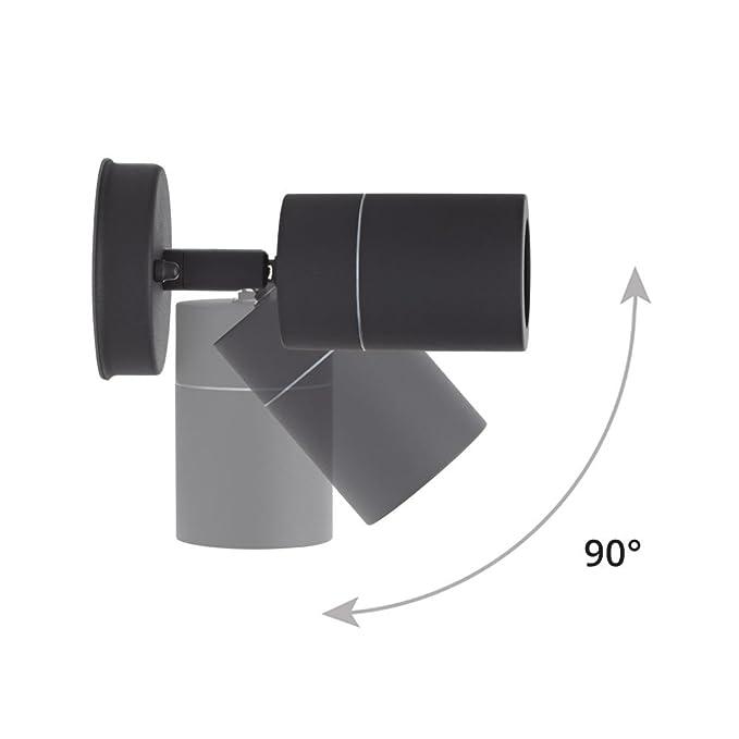 GCDN Lampada da Lettura Comodino a Braccio Regolabile 9 LED Leggio per Libri Leggero USB Semplice con Morsetto a Pile
