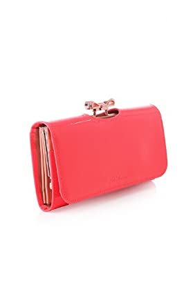 fb15d0212 Ted Baker Women s crystal bow bobble matinee purse Neon Bright Pink ...