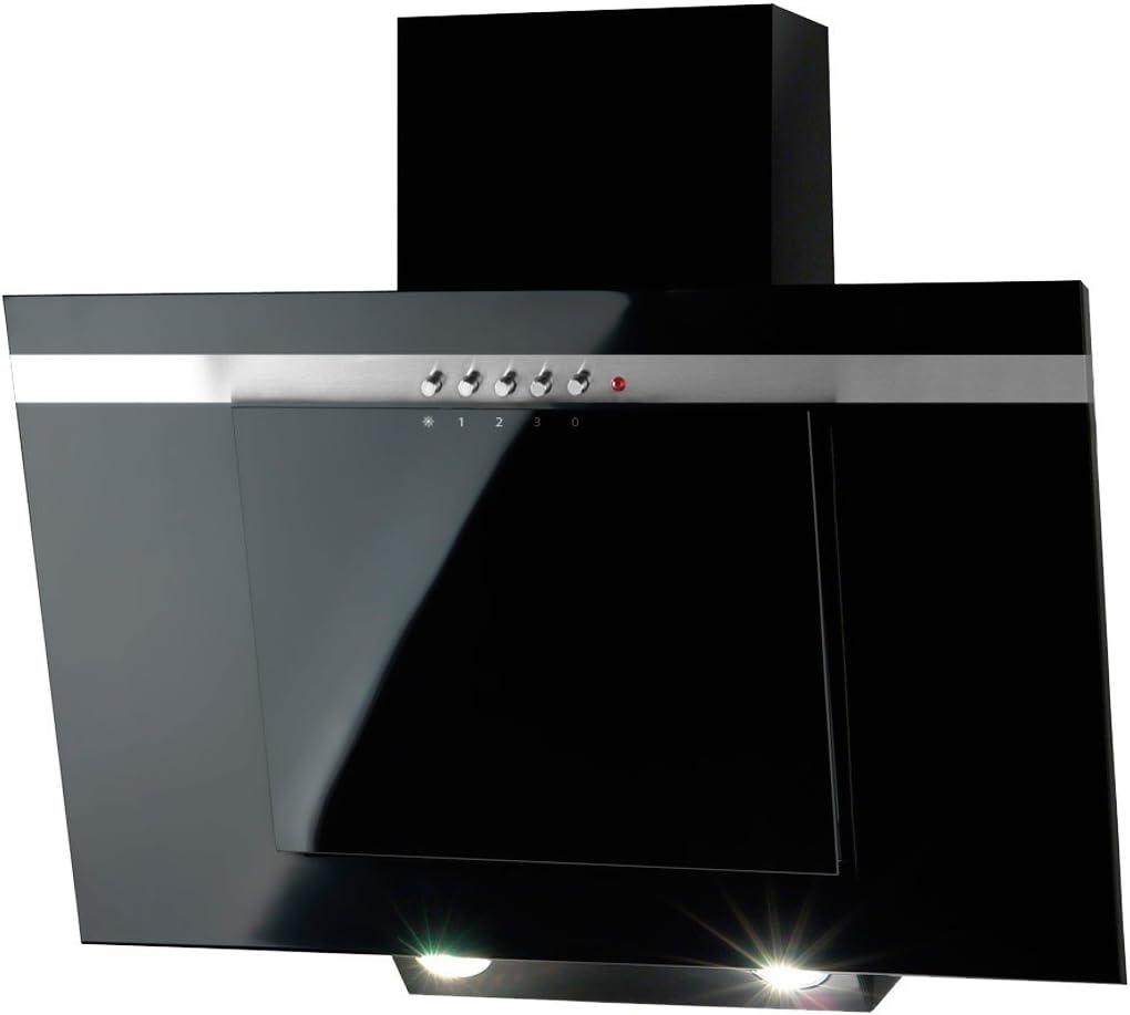 Akpo - Campana extractora wk-4 nero line negro / 60cm / 320m3/h ...