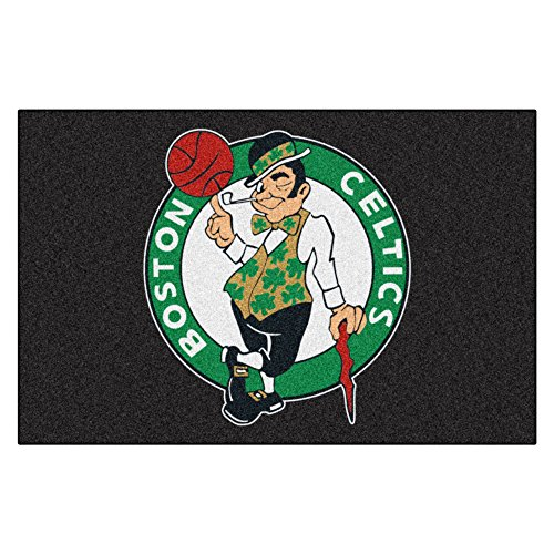 FANMATS  11900  NBA Boston Celtics Nylon Face Starter (Fanmats Nba Starter Mats)