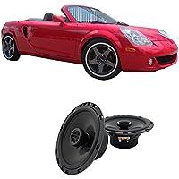 Fits Toyota MR2 Spyder 2000-2003 Front Door Factory Replacement Harmony HA-R65 Speakers
