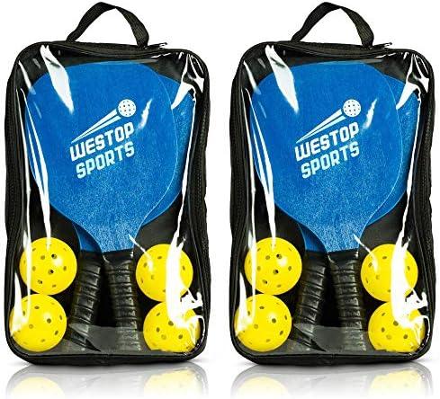 Amazon.com: Westop Sports Pickleball Paddle Set – Los ...