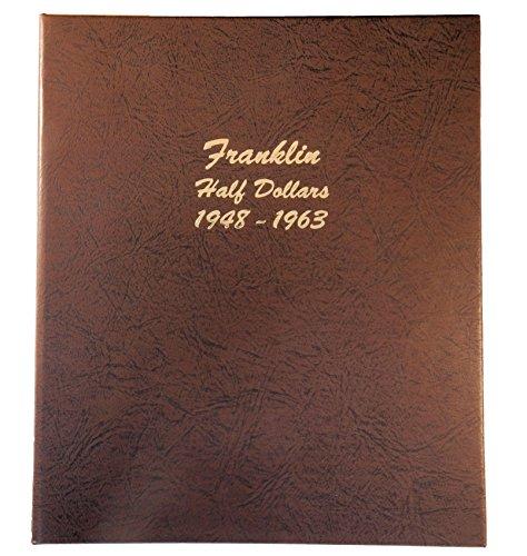 - Dansco US Franklin Half Dollar Coin Album 1948 - 1963 #7165