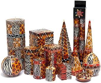 Kapula Schwimmkerze Multicolored 5x2cm Handmade K/ünstlerkerze Kerze Fair Trade 1 Stck.