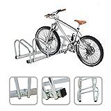 Rastrelliera per 5 biciclette - agganciamento bicicletta al suolo...