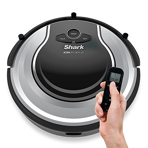 Optional Sideboard - Shark ION ROBOT Self-cleaning Vacuum with Smart Sensor Navigation for Surface Floors & Thin Carpets and Easy Scheduling Remote (Renewed) (RV700)
