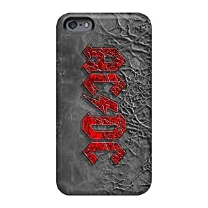 Scratch Protection Cell-phone Hard Cover For Apple Iphone 6s (vpR700akEh) Custom Fashion Ac Dc Band Skin