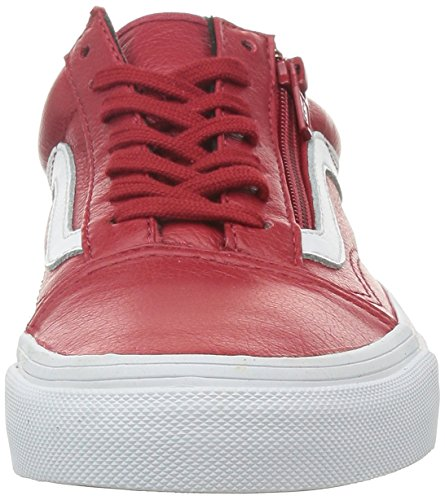 Vans U Old Skool Zip Leather - Zapatillas bajas unisex (premium lthr)c
