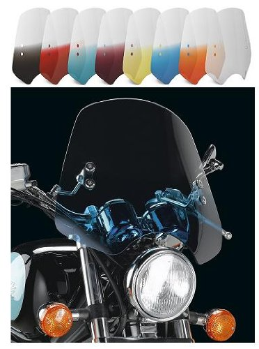 (Memphis Shades The Shooter Windshield With Handlebar Mounting Kit (GRADIENT PURPLE))