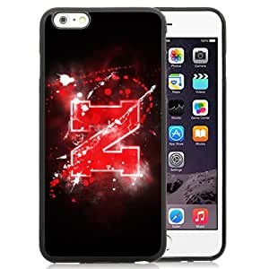 Fashion And Unique iPhone 6 Plus Cover Case Ncaa Big Ten Conference Football Nebraska Cornhuskers 5 Protective Cell Phone Hardshell Cover Case For iPhone 6 Plus 5.5 Inch Black Phone Case