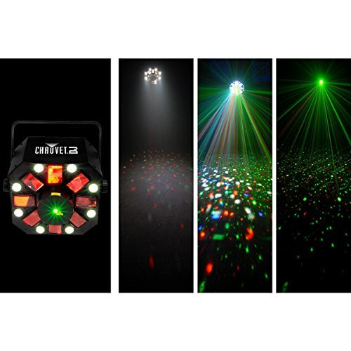 Chauvet DJ Swarm 5 FX 3-in-1 LED Light with 1 Year Free Extended Warranty (Effect Lighting Wash)