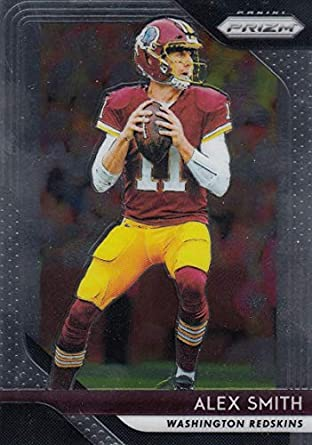 huge discount e6eca cf8d6 Amazon.com: 2018 Panini Prizm #1 Alex Smith Washington ...