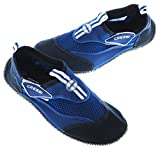 Cressi Reef - Premium Aqua Beach Shoes Adult and Children's, Light Blue/Blue, UK 10/EU 44