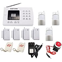 iMeshbean Wireless PSTN PIR Home Security Burglar Alarm System Auto Dialing K30 99 Zones USA