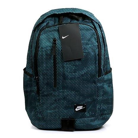 457022e012 Nike Nk all Access Soleday Zaino, 47 cm, Deep Jungle/Nero/Bianco ...