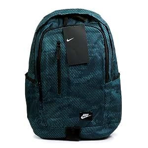 Nike NK All Access Soleday bkpk-AOP Mochila Unisex, Jungle Profunda/Negro/Blanco: Amazon.es: Deportes y aire libre