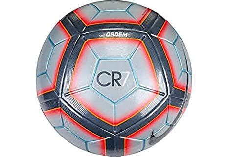 Nike Ordem 4 CR7 - Official Match Ball Soccer Ball Grey / Total ...