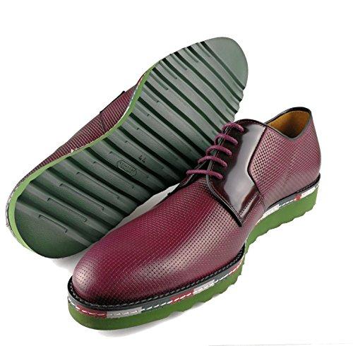 Zerimar Chaussures en Cuir Pour Homme Chaussure Homme Hiver Couleur Bordeaux Taille 43