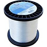 Joy Fish monofilament fishing line 100 lb test approx. 430 yards, 1 lb spool white (Twin Pack)