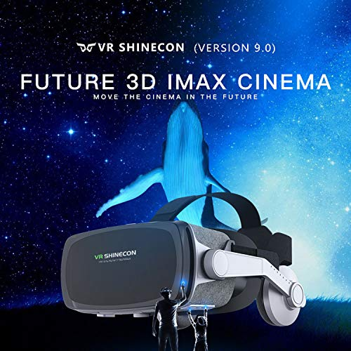 2019 New Version Virtual Reality Headset, VR Goggles VR Headsets for TV, Movies post thumbnail