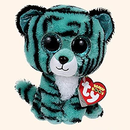 3652a4de0d6 Image Unavailable. Image not available for. Color  Ty Beanie Boos Tess -  Tiger (Justice Exclusive)