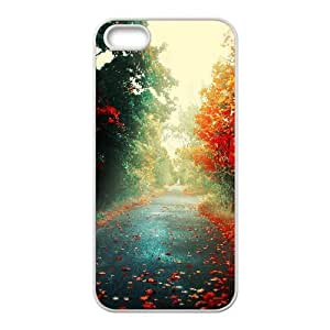 Iphone 5/5S Case, Colorful Road Case for Iphone 5/5S White Leemarson if4111462