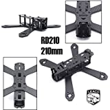 LEACO RD-210 210 210mm DIY Mini Drone FPV Cross Racing Pure Carbon Fiber Frame 4mm arms RD210 QAV210 Quadcopter