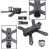 RD-210 210 210mm DIY Mini Drone FPV Cross Racing Pure Carbon Fiber Frame 4mm arms RD210 QAV210 Quadcopter