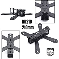 RD-210 210 210mm DIY Mini Drone FPV Cross Racing Pure Carbon Fiber Frame 4mm arms RD210 QAV210 Quadcopter