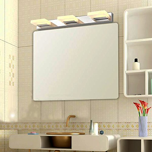Zockup Contemporary 15 WATT LED Warm White Mirror Light | Bathroom Light (3 Years Warranty) Lighting Fixtures at amazon
