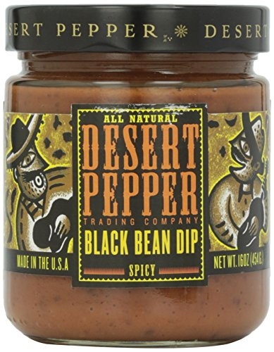 (Desert Pepper Trading Company, Spicy Black Bean Dip, 16 oz)