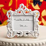 Mini Photo Frames Baroque White Vintage Look for Wedding/Christmas or Other Occasions