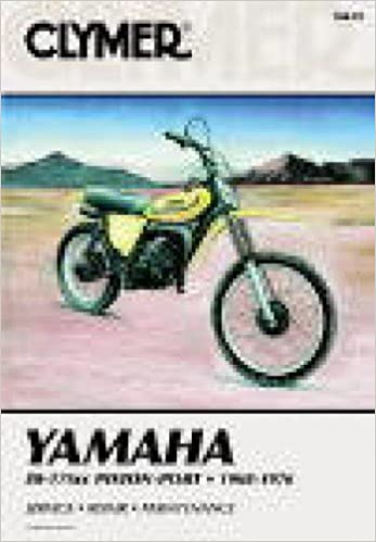 M410 1968-1976 Yamaha 80-175 Piston Port Clymer Repair Manual: Manufacturer: Amazon.com: Books