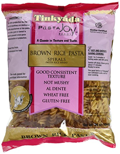 Tinkyada Spirals Brown Rice Pasta (3x16 oz.) by Tinkyada