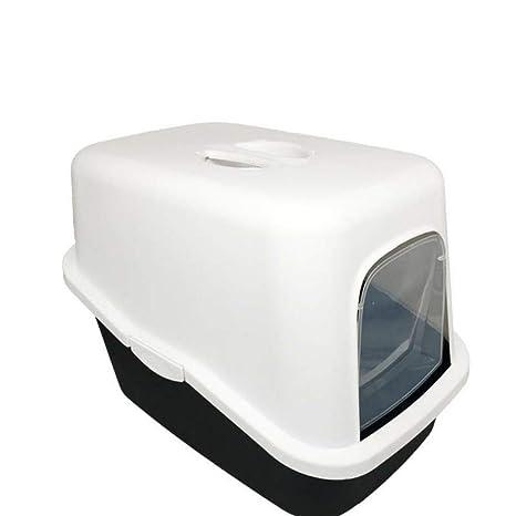 Axiba Animal-WC Cuenca de Arena Gato Cerrado Completo tocador Desodorante Anti-Splash Gato