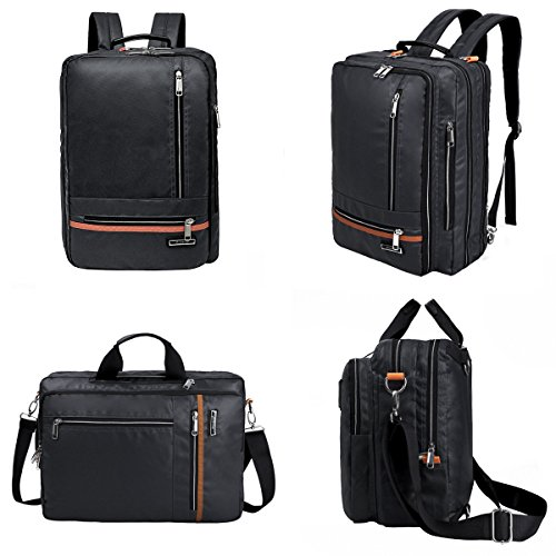 540f7091e0 Multi-function Water Resistant Laptop Backpack Messenger Bag Convertible  Casual Briefcase Backpack School Bookbag Satchel