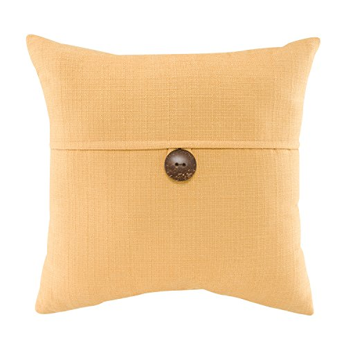 Mainstays Dynasty Decorative Throw Pillow, 1 Button, Multiple Colors