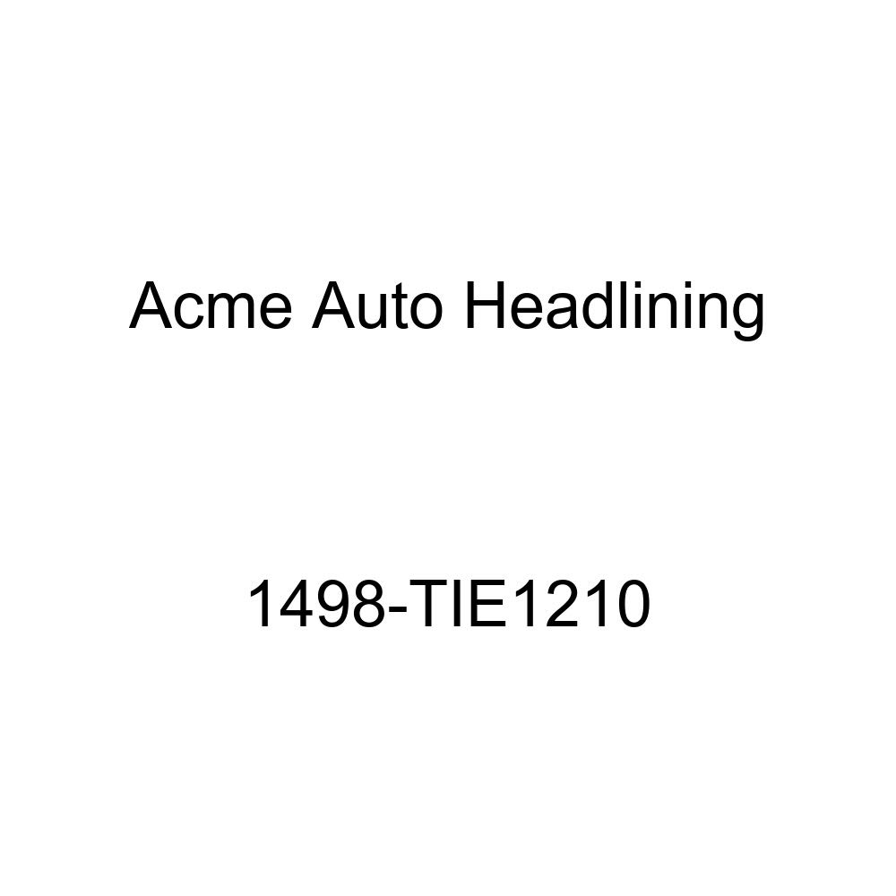 Acme Auto Headlining 1498-TIE1210 Maroon Replacement Headliner 1960 Chevrolet Impala 2 Door Hardtop 4 Bows