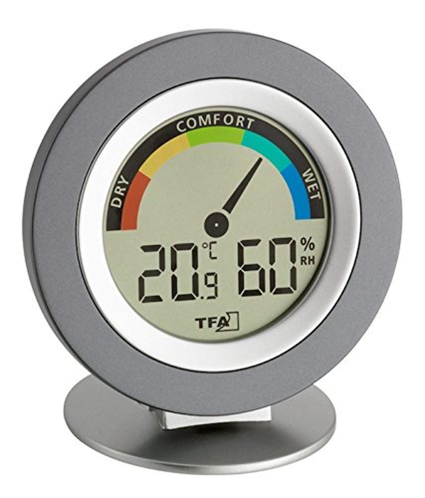 TFA Dostmann Cosy Digital Thermo-Hygrometer Green Wash Ltd 30-5019