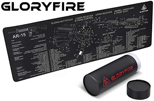 GLORYFIRE Gun Cleaning Mat Gun Mat Double Thickness Cleaning Mat
