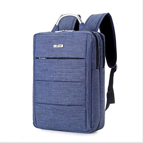 Laptop Backpack Mochila para portátil hasta 14 pulgadas para negocios / trabajo / viajes Mochila para portátil ultra ligera , red blue