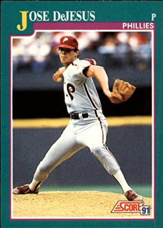 Amazoncom 1991 Score Baseball Card 623 Jose Dejesus
