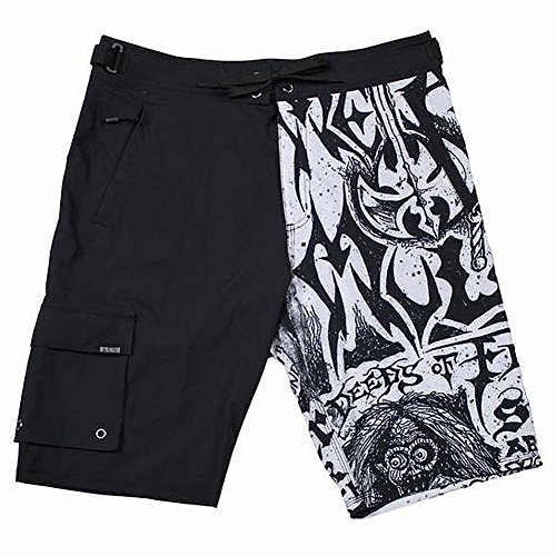 Metal Mulisha Men's Flyer Boardshort, Black, 34