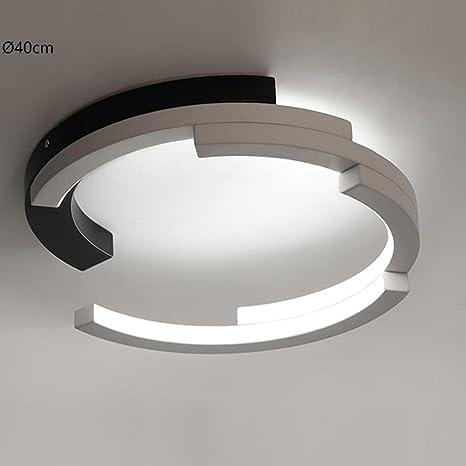 30 W redondo - Lámpara LED de techo modern Fácil acrílico ...