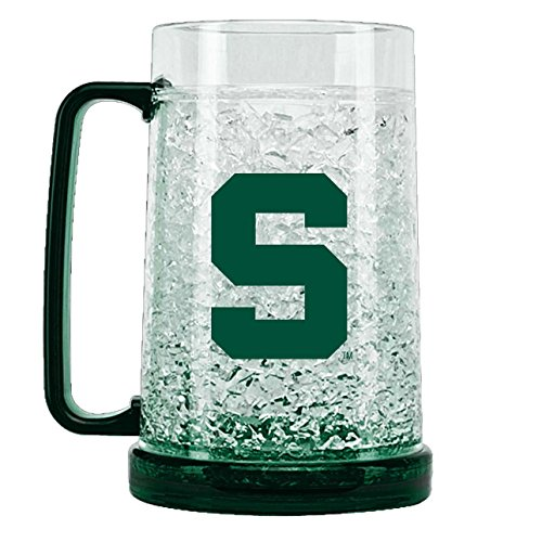 NCAA Michigan State Spartans 16oz Crystal Freezer Mug